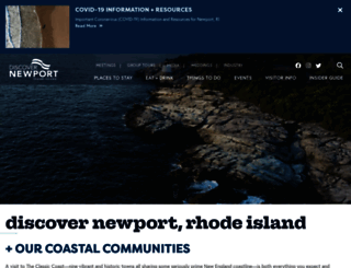 discovernewport.org screenshot