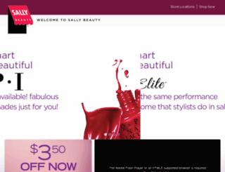 discoversallybeauty.com screenshot