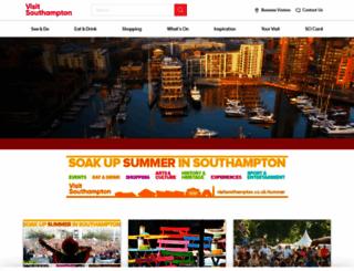 discoversouthampton.co.uk screenshot
