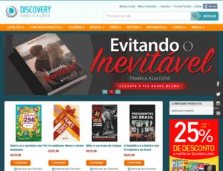 discoverypublicacoes.com.br screenshot