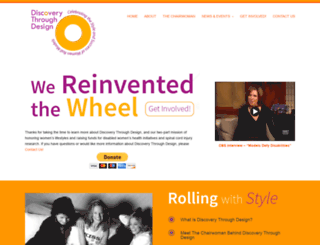 discoverythroughdesign.org screenshot