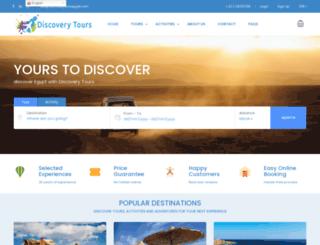 discoverytoursegypt.com screenshot