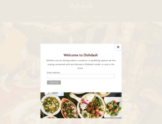 dishndashrestaurant.com screenshot