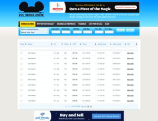 disneydvcresale.com screenshot