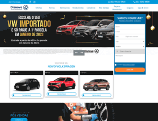 disnove.com.br screenshot