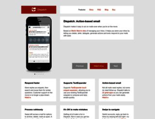 dispatchapp.net screenshot