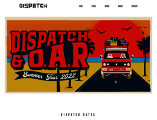 dispatchmusic.com screenshot