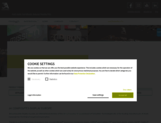 display.3acomposites.com screenshot