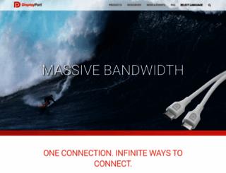 displayport.org screenshot