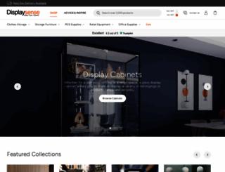 displaysense.co.uk screenshot