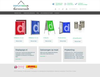 displaysign.nl screenshot
