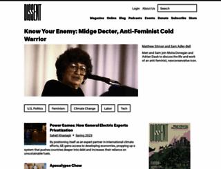 dissentmagazine.org screenshot