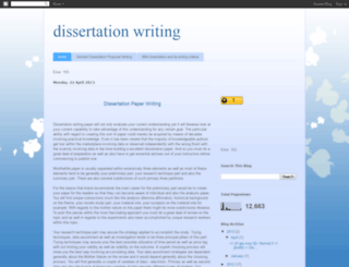 dissertationpaperwriting.blogspot.com screenshot