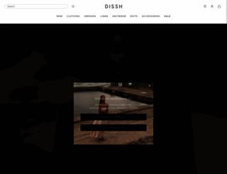 dissh.com.au screenshot