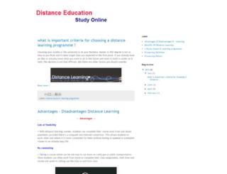 distance-edu-degree.blogspot.com screenshot