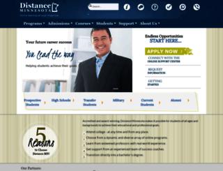 distanceminnesota.com screenshot