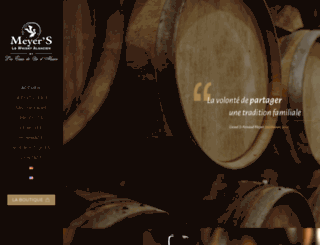 distillerie-meyer.fr screenshot