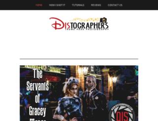 distographers.com screenshot