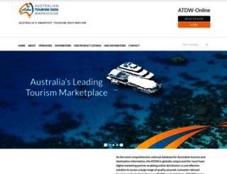 distribution.atdw.com.au screenshot