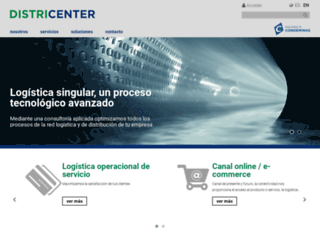 districenter.es screenshot