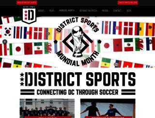 districtsportsusa.leagueapps.com screenshot