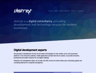 distriqt.com screenshot