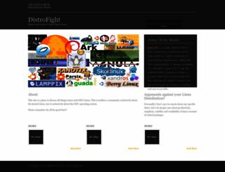 distrofight.com screenshot