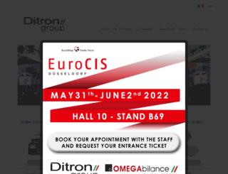 ditron.eu screenshot