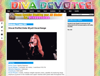 divadevotee.com screenshot