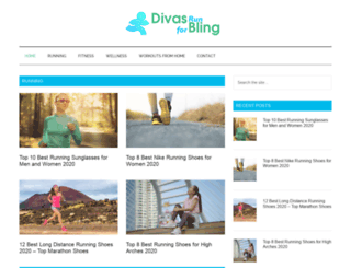 divasrunforbling.com screenshot