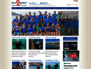 dive2gether.com screenshot