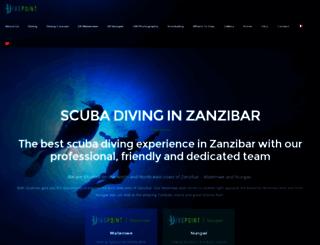 divepointzanzibar.com screenshot
