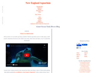 divers.neaq.org screenshot