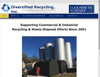 diversifiedrecycling.net screenshot
