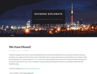 dividenddiplomats.wordpress.com screenshot