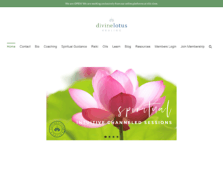 divinelotushealing.com screenshot