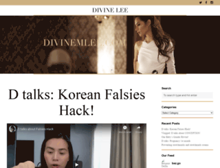 divinemlee.com screenshot