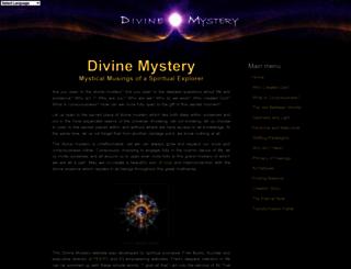 divinemystery.net screenshot