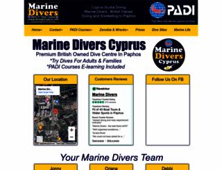 divingincyprus.net screenshot