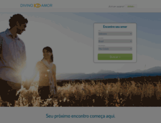 divinoamor.com.br screenshot