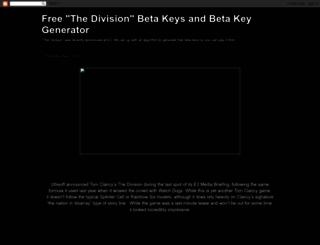 divisionbetakey.blogspot.ca screenshot