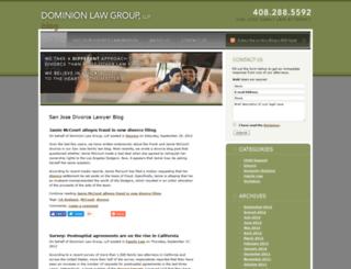 divorceattorneysanjoseca.com screenshot