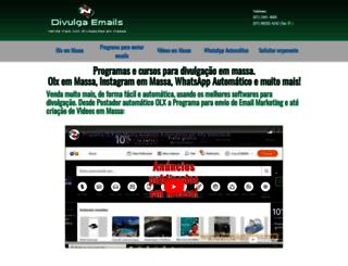 divulgaemails.com screenshot