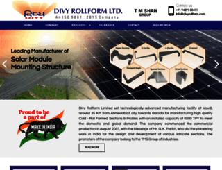 divyrollform.com screenshot