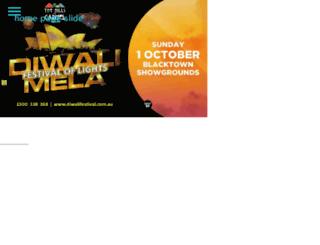 diwalifestival.com.au screenshot