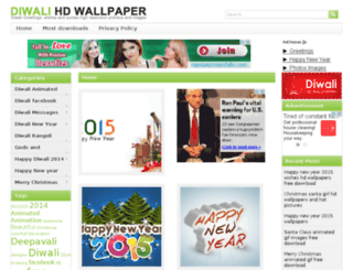 diwalihdwallpaper.com screenshot