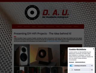 diy-hifi-forum.de screenshot