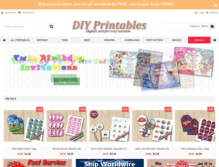 diy-printables.com screenshot