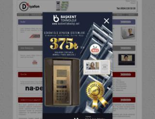 diyafonankara.com screenshot