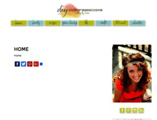 diyconfessions.com screenshot